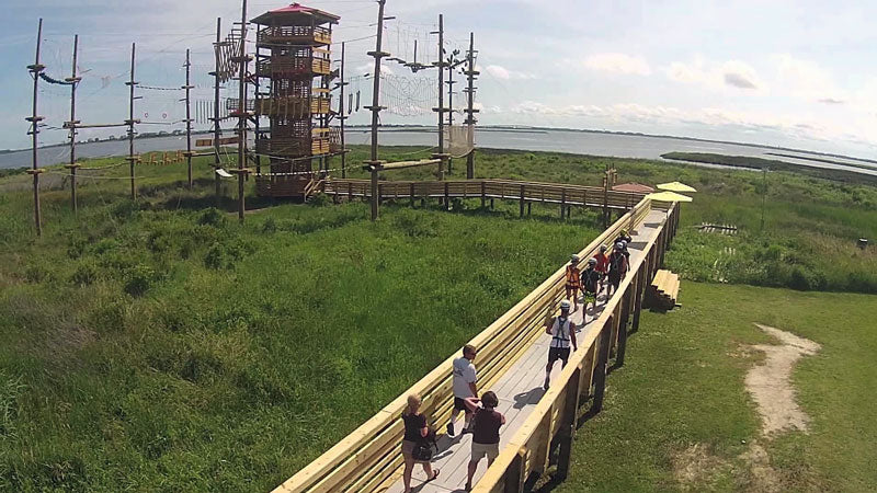 First Flight Adventure Park in Nags Head, NC