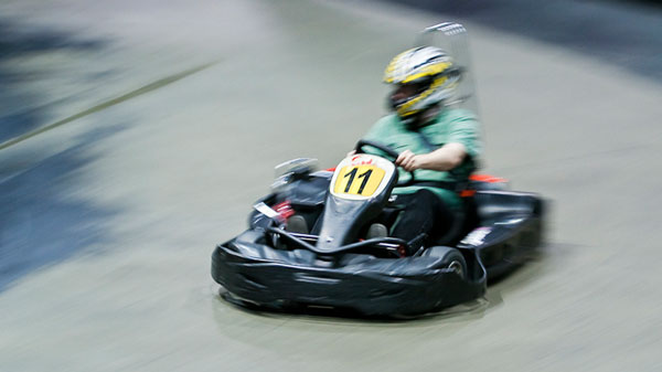 Go Carts at Full Throttle Speedway in Nags Head, NC
