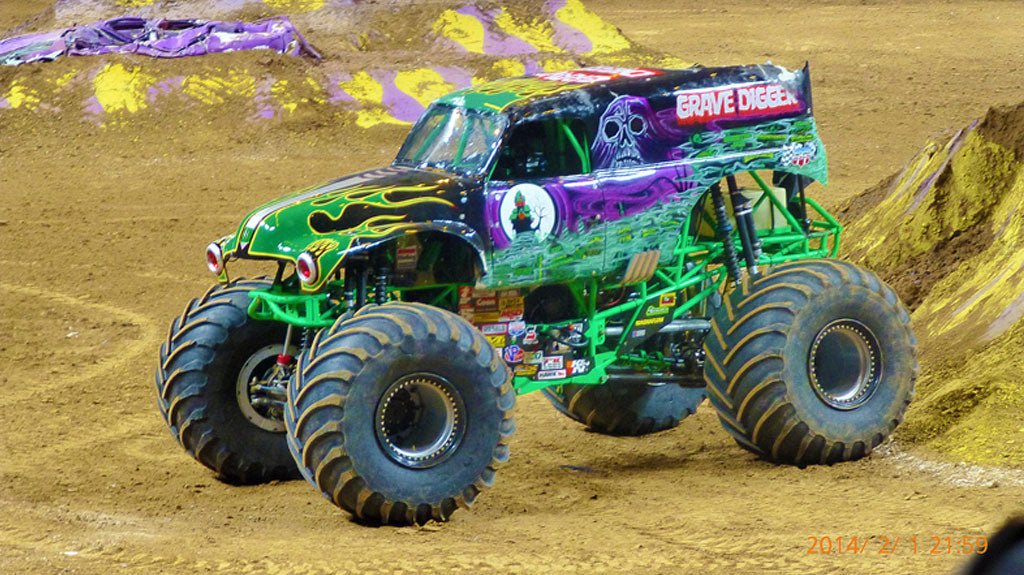 Grave Digger Monster Truck Outer Banks NC