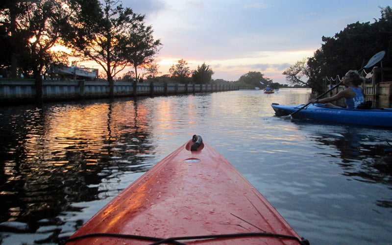 Kayaking in Southern Shores North Carolina