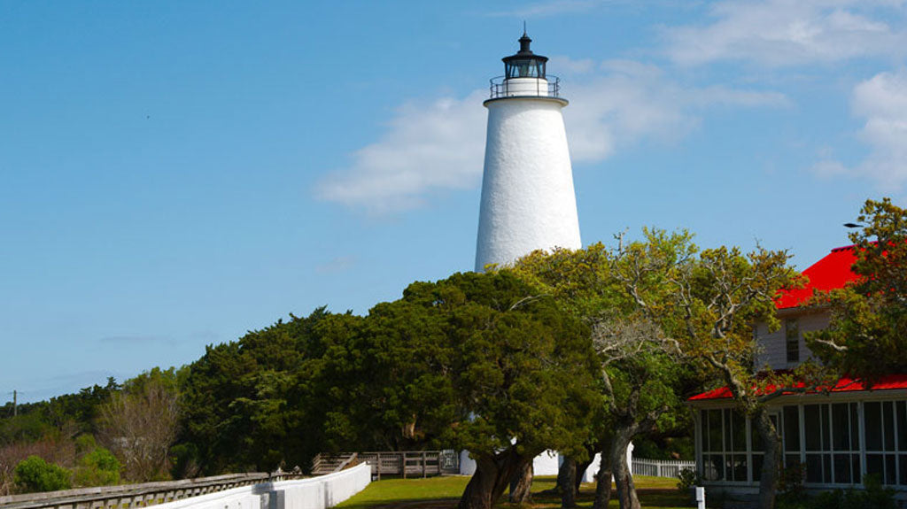 Ocracoke Island Lighthouse Outer Banks NC