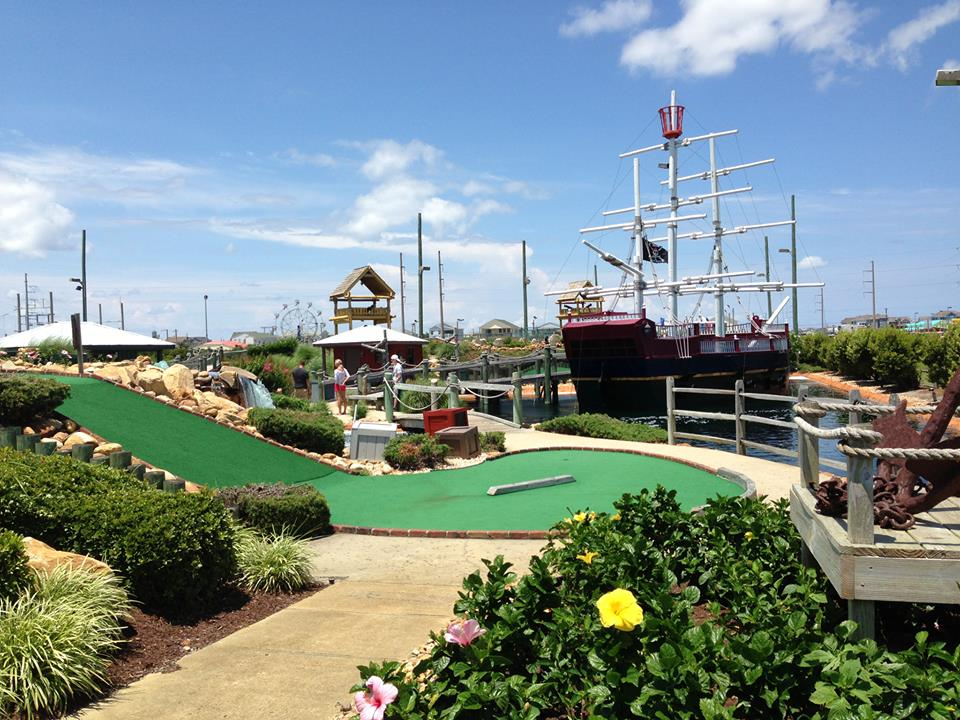 Mutiny Bay Adventure Golf in Nags Head NC