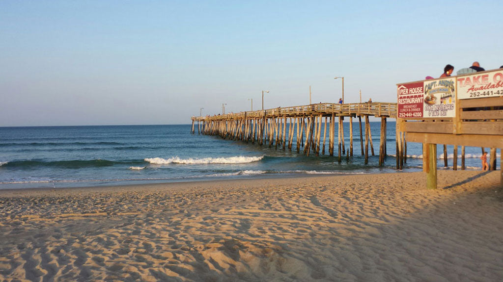Nags Head Fishing Pier Outer Banks NC