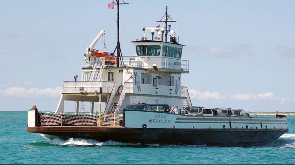 Hatteras Island Ferry Ocracoke Island Outer Banks NC