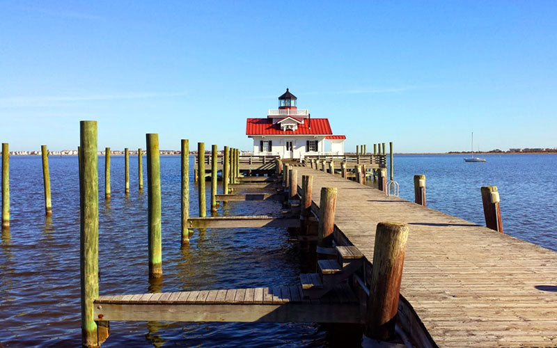 Roanoke Marshes Lighthouse Manteo NC Outer Banks