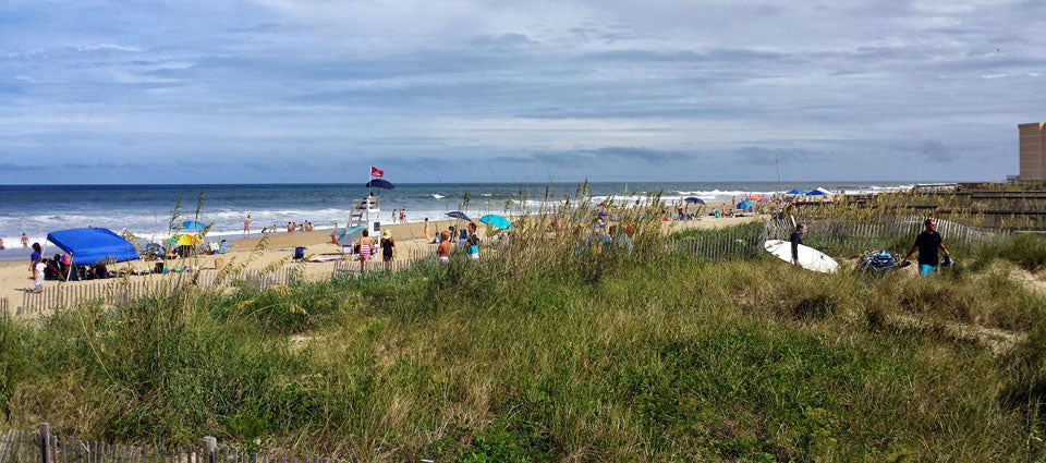 Surfing in Nags Head, NC