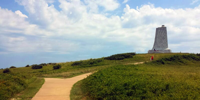 Wright Brothers National Memorial in Kill Devil Hills, NC