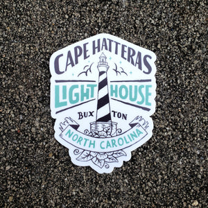 Cape Hatteras Lighthouse Sticker
