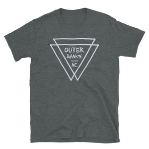 Outer Banks NC Triangles T Shirt