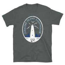 Load image into Gallery viewer, Ocracoke Island Lighthouse Emblem T Shirt