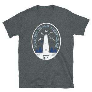 Ocracoke Island Lighthouse Emblem T Shirt