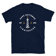 Load image into Gallery viewer, Cape Hatteras Lighthouse Emblem T Shirt