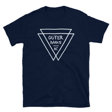 Load image into Gallery viewer, Outer Banks NC Triangles T Shirt