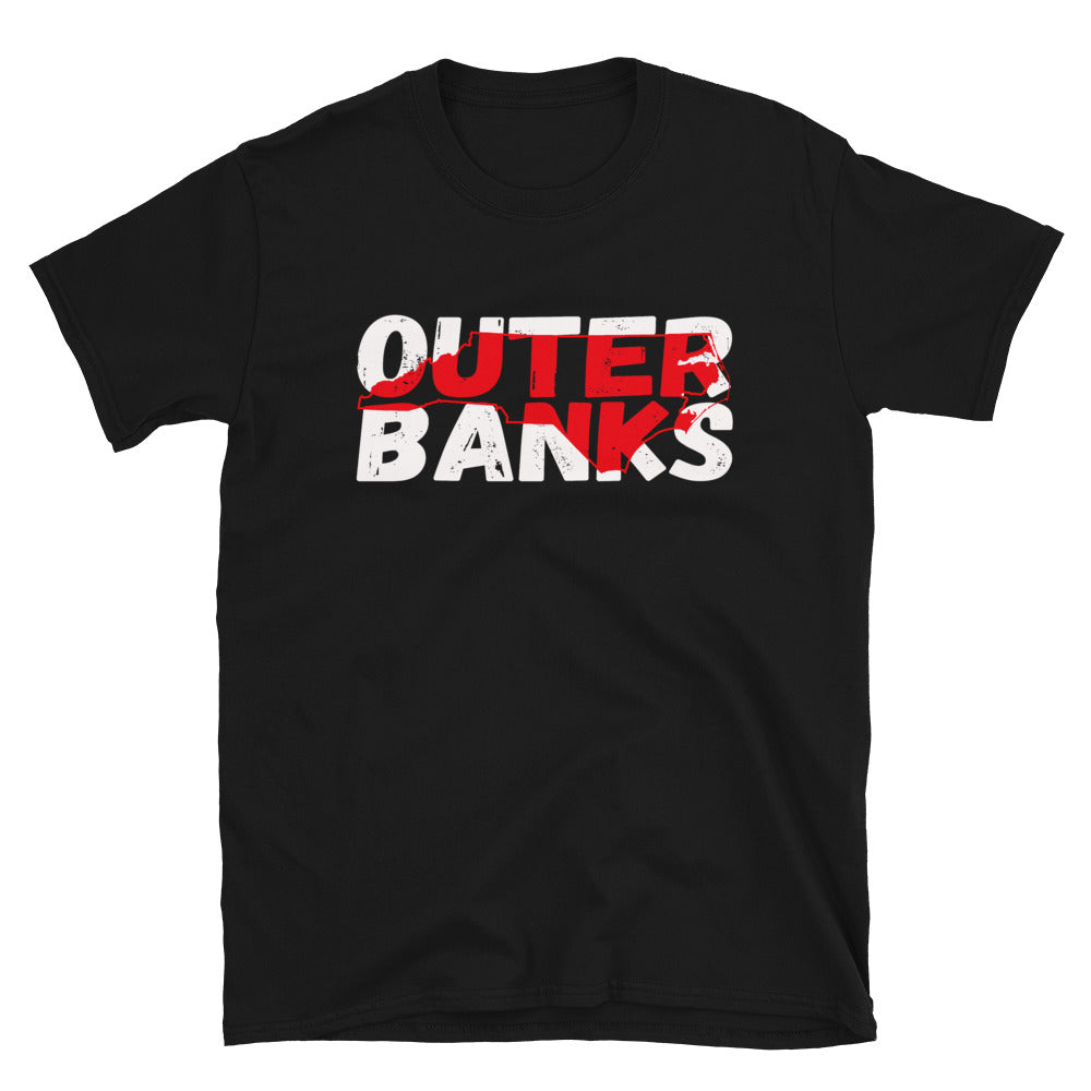 Outer Banks NC Cutout T Shirt