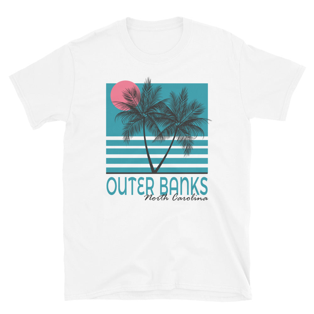 Outer Banks Retro Vacation T Shirt