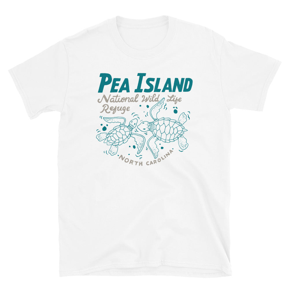 Pea Island National Wildlife Refuge Sea Turtles T Shirt
