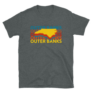 Outer Banks Retro Repeat T Shirt