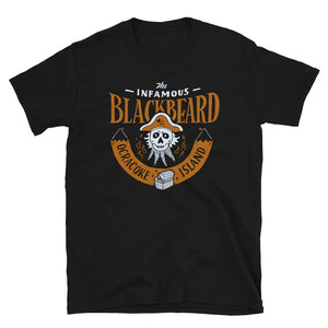 The Infamous Blackbeard T Shirt