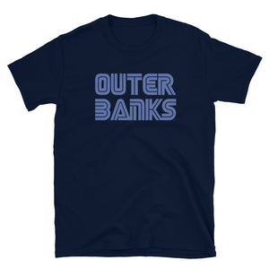 Outer Banks Video Game Font T Shirt