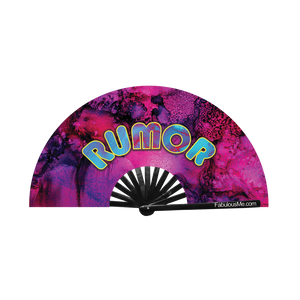 Rumor Fan (UV Glow)