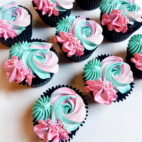 Watch Me Whip's gourmet cupcakes are light, spongy and filled with delectable centres.