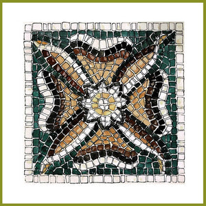 """Flower"" mosaic kit"