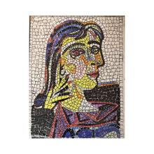 "Load image into Gallery viewer, Kit mosaico ""Picasso - Dora Maar"""