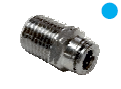 "1/4"" BSP-T Male Connector for 1/4"" Tube"