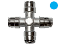 "1/4"" Four Way Cross Fitting"