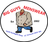 Big Guys Menswear Est 2002