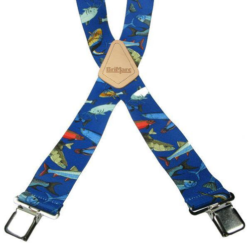 Fish 4 Clip Heavy Duty Brace/Suspender