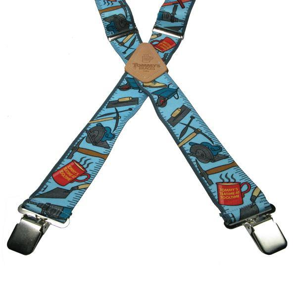 Tommy's teatime 4 Clip Heavy Duty Brace/Suspender