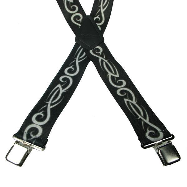 Tribal 4 Clip Heavy Duty Brace/Suspender - Big Guys Menswear
