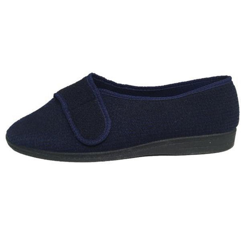 Comfylux Arthur Wide Fit Washable Slippers - Big Guys Menswear