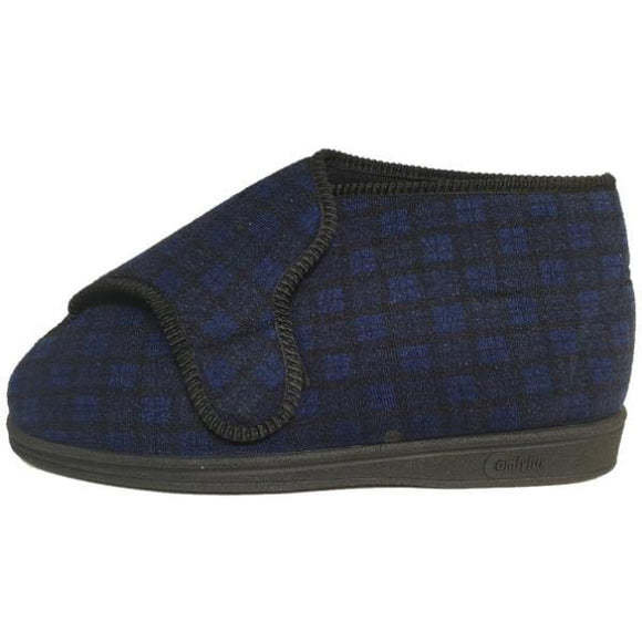 Comfylux Gerry Wide Fit Washable Bootee Slippers