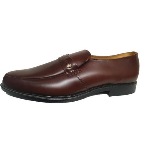 DB Extra Wide Fitting Brown Birkdale Leather Shoes - Big Guys Menswear