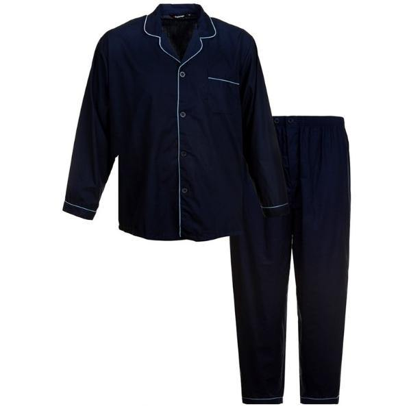 Espionage Woven Yard Dyed Navy Pajama's
