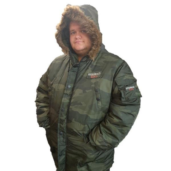 Fitzgerald camouflage Parka