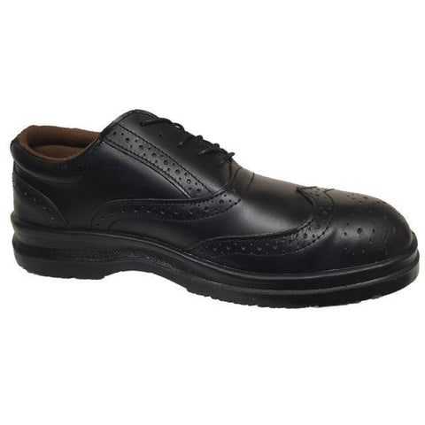 Grafters Uniform Safety Shoes - Big Guys Menswear