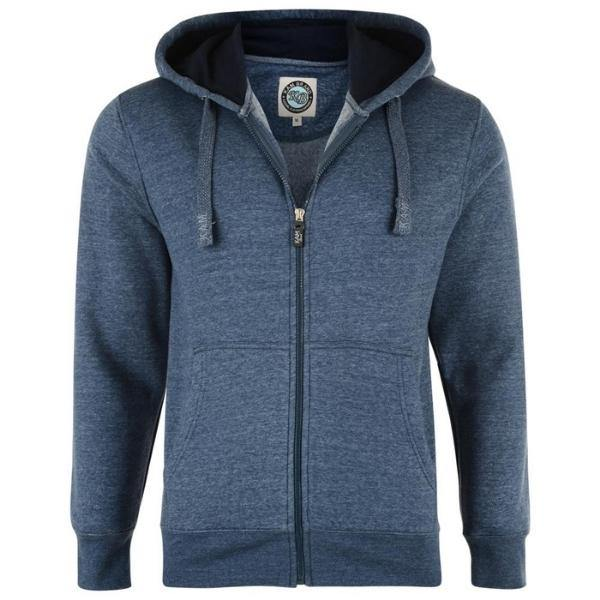 Kam Fleece Zip Thru Hoody - 7 colours - Big Guys Menswear