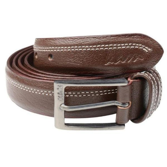 Kam Leather Trousers Belt - Black & Brown Available