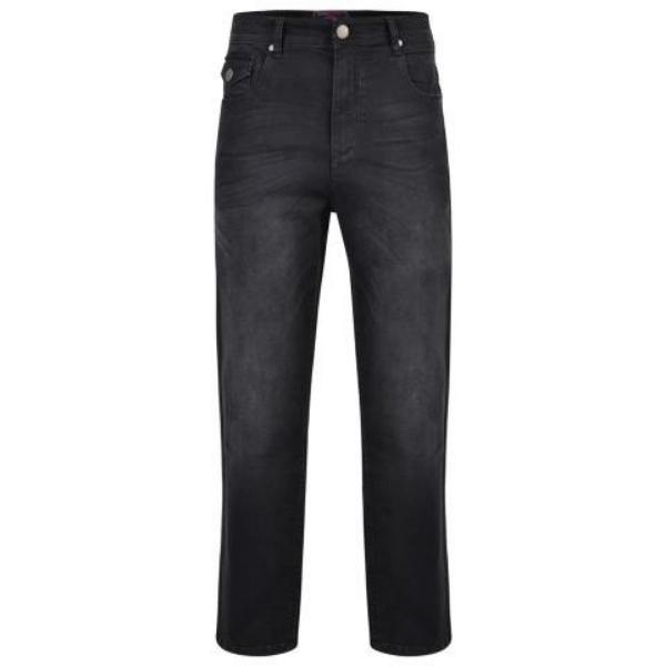 Kam Regular Fit Stretch Jeans With Emboss