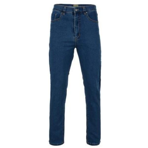 Kam Regular Fit Stretch Jeans ~ Stonewash & Black Available - Sizes 40 - 64 - Big Guys Menswear