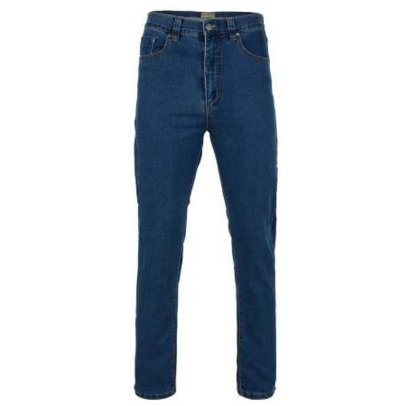 Kam Regular Fit Stretch Jeans ~ Stonewash & Black Available - Sizes 40 - 64