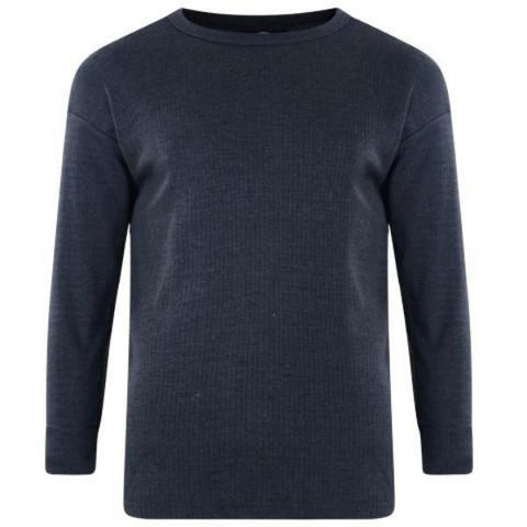 Kam Thermal Long Sleeve T-Shirt - Big Guys Menswear