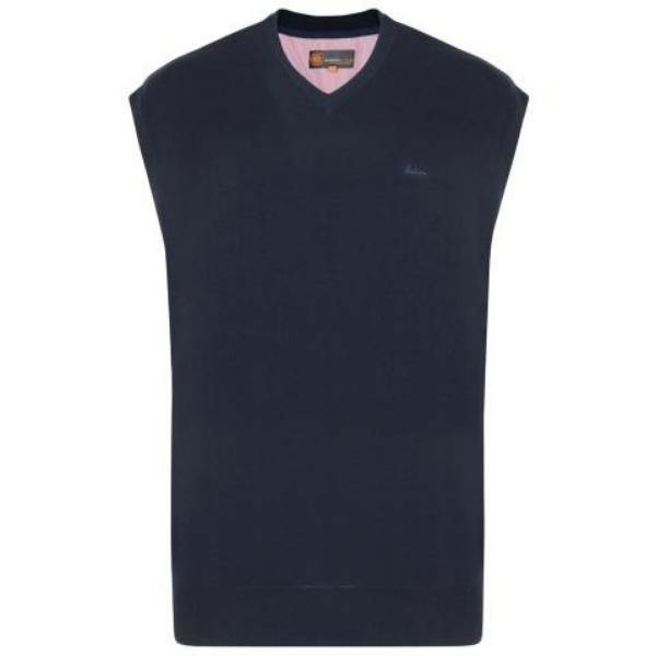 Kam V-Neck Sleeveless Knit Jumper - 3 Colours Available
