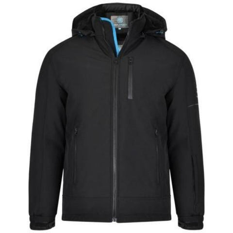 Kam Waterproof Heavyweight Sherpa Lined Softshell Jacket - Big Guys Menswear