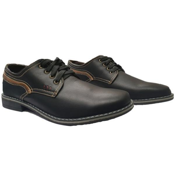 Lee Cooper Porter Soft Leather Shoes - Big Guys Menswear