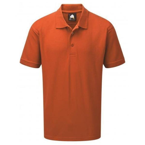 Men's ORN Eagle Premium Polo Top - Variety of Colours - Big Guys Menswear