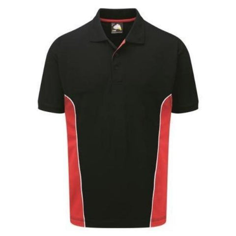 Men's Orn Silverswift Two Tone Poloshirt - Variety of Colours - Big Guys Menswear